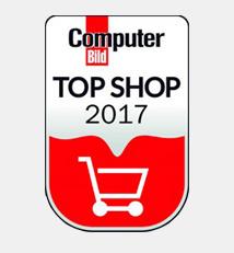 Top Shop Siegel Computer Bild
